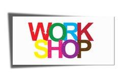 Work shop illustration vector illustration