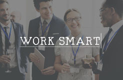 Work Smart Effective Planning Production Working Concept Stock Images
