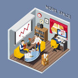 Work space concept Royalty Free Stock Photography