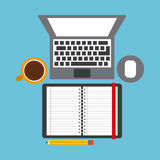 Work space Royalty Free Stock Images