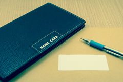 Work space desktop. Close up Royalty Free Stock Images