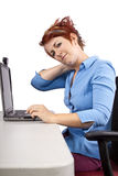 Work Strain Royalty Free Stock Photography