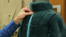 Work in a tailoring Studio stock video footage
