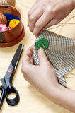 Work of  tailor Stock Images