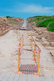 Work in Tharros Stock Photography