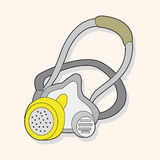 Work tool gas mask theme elements vector,eps. Vector illustration file Stock Photos