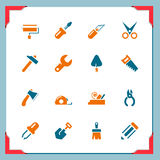 Work tool icons | In a frame series royalty free illustration