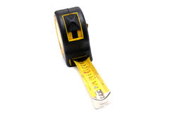 Work tool series: Old tape measure Royalty Free Stock Photo