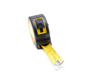 Work tool series: Old tape measure Stock Images