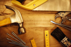 Work tools Royalty Free Stock Images