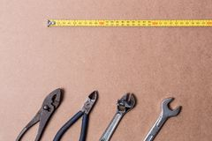 Concept Tools Background royalty free stock image