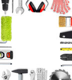Work tools frame Stock Photography