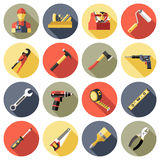 Work Tools Icon Set Royalty Free Stock Photography