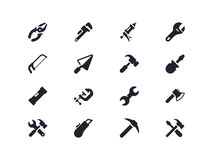 Work tools icons. Lyra series Stock Image