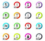 Work tools icons set. Work tools web icons for user interface design vector illustration