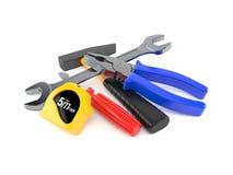 Work tools. Isolated on white background Stock Image