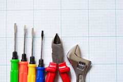 Work Tools Set Royalty Free Stock Photography