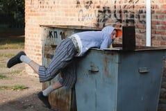 Work & trash Royalty Free Stock Image