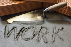 At work Stock Photo