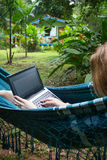Work on vacation Royalty Free Stock Photo