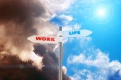 Work vs Life Stock Photography