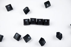 Work word royalty free stock images