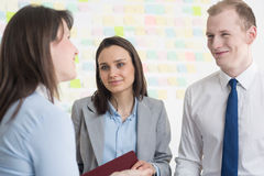 Work with you is a pleasure Stock Images