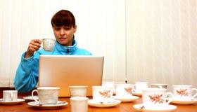 workaholic стоковое изображение