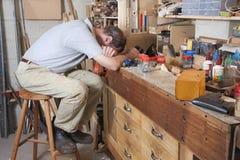 workbench рукояток головной Стоковая Фотография RF