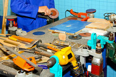 Workbench Stock Image