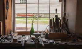 workbench przeszłość Obraz Royalty Free