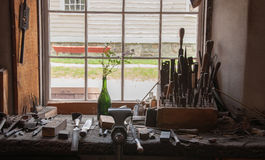 Workbench from Yesteryear Royalty Free Stock Image