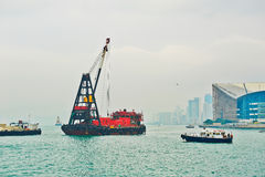 Workboat royalty-vrije stock foto's