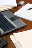 Workdesk esecutivo Fotografie Stock