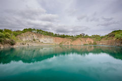 Worked Out Quarry Stock Photography