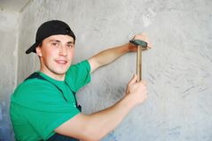 The worker. Royalty Free Stock Photography
