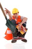 The worker. Stock Images