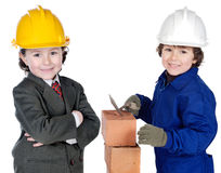 Worker And Supervisor Stock Photography