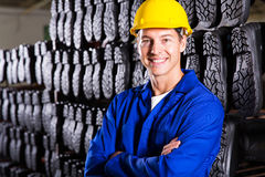 Worker arms folded Royalty Free Stock Images