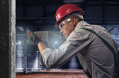 Free Worker At A Construction Site Stock Photos - 32101003