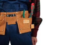 Worker belt Royalty Free Stock Image