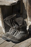 Worker boots Royalty Free Stock Photography