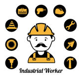 Worker design Royalty Free Stock Image