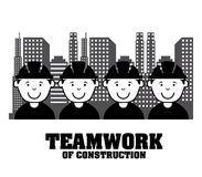 Worker design. Over white background vector illustration Royalty Free Stock Images