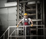 Worker on a factory Royalty Free Stock Photography