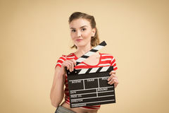 Worker film industry Royalty Free Stock Photography