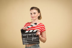 Worker film industry Stock Photography