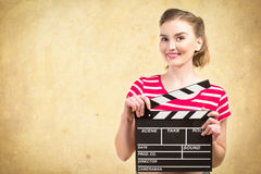 Worker film industry Stock Images