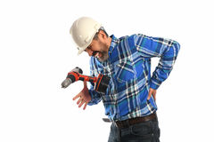 Worker Getting Injury Stock Photos