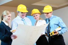 Worker group Stock Images